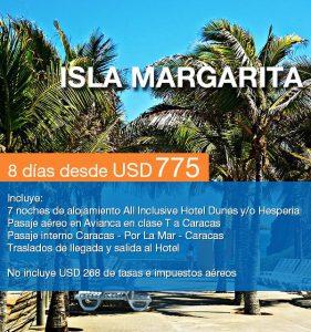 Isla Margarita 8 días