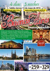 Buenos Aires incomparable 13 de Mayo, 2016
